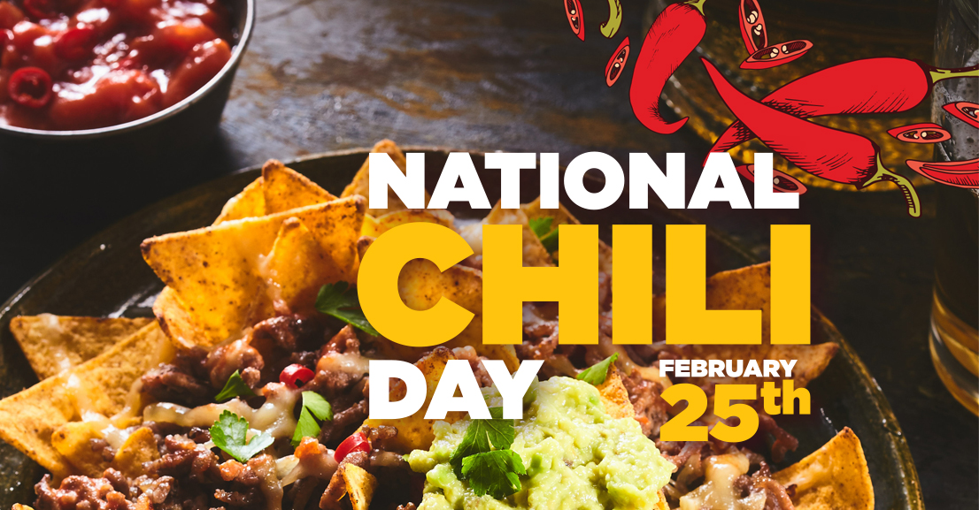 A picture of chili nachos for national chili day