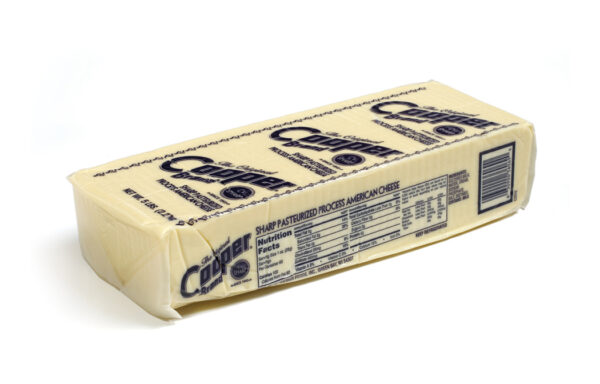 2/5#  LOAF C-V SHARP WHITE AMERICAN SELL BY CODE DATE – COOPER DELI