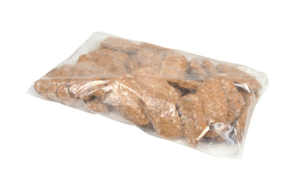 AdvancePierre Fully Cooked Beef with Onion and Bell Pepper Dinner Loaf Slice, 3.15 oz, Approx. 76 Pieces, 15 Lbs