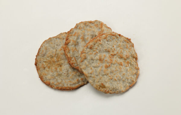 All Natural Pork Sausage Patties, Mild, CN, 1.5 oz. 1/10 lb. Fully Cooked, Certified Gluten-Free