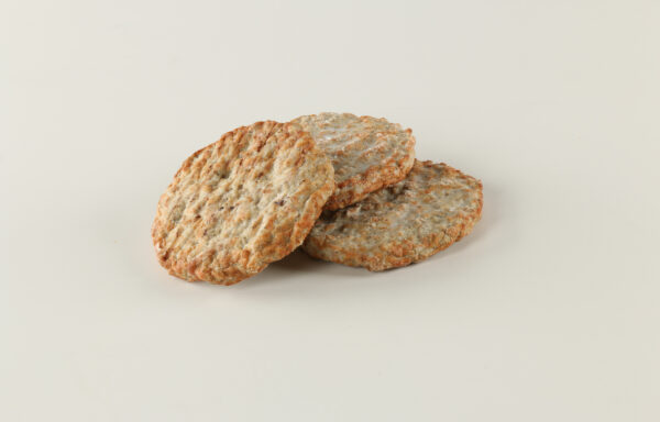 All Natural Pork Sausage Patties, Mild, CN, 2.0 oz. 1/10 lb., Fully Cooked, Certified Gluten-Free