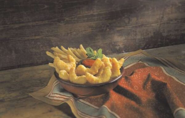31-35 ct Yuengling Battered Shrimp, Tail-Off