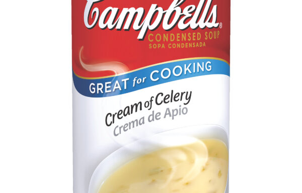 Campbell's Classic Condensed Cream of Celery Soup, 50 Ounce Cans, 12-Pack