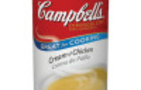 Campbell's Classic Condensed Cream of Chicken Soup, 50 Ounce Cans, 12-Pack