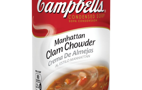 Campbell's Condensed Manhattan Clam Chowder, 50 oz. Can