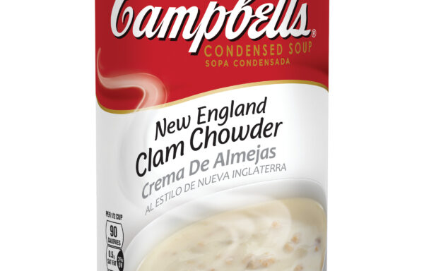 Campbell's Condensed New England Clam Chowder, 50 oz. Can