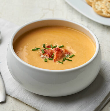 Campbell's Reserve Frozen Ready to Eat Lobster Bisque with Sherry, 4 Pound Pouches, 4-Pack