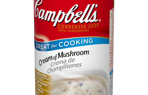 Campbell's Classic Condensed Cream of Mushroom Soup, 50 Ounce Cans, 12-Pack