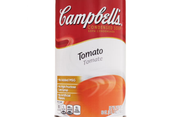 Campbell's Classic Condensed Tomato Soup, 50 Ounce Cans, 12-Pack